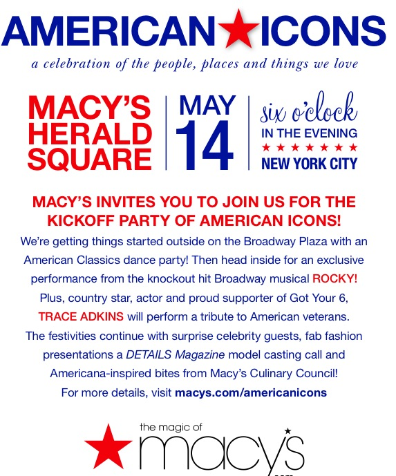 American Icons event details