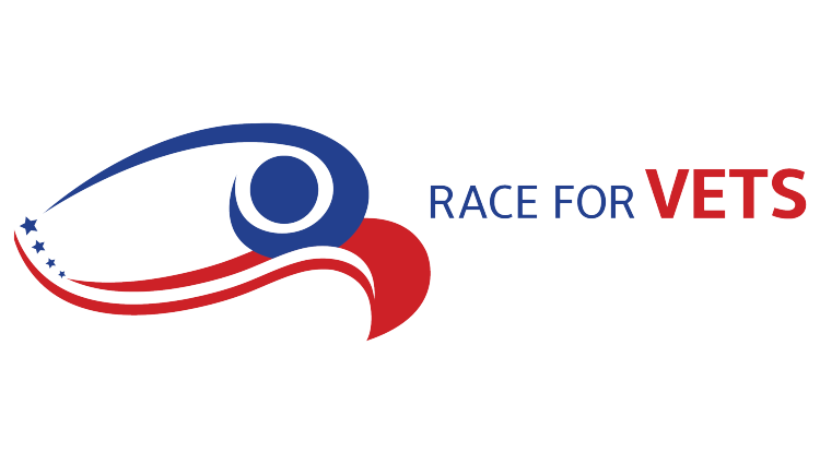 Race For Vets - Horizontal Logo